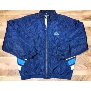Vintage Adidas Jacket. Fully Insulated. Awesome!